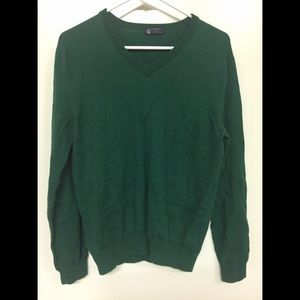 J Crew V Neck Wool Pullover Sweater